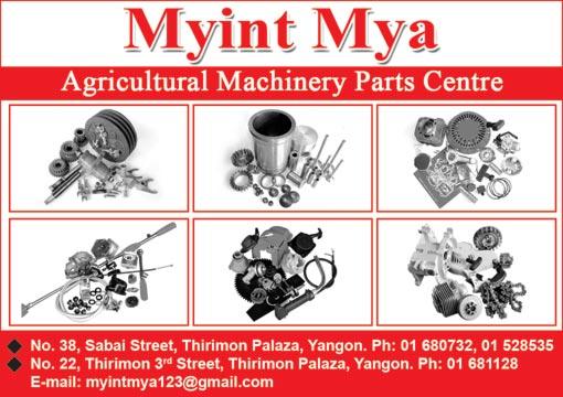 Myint MyaAgricultural Machineries & Tools