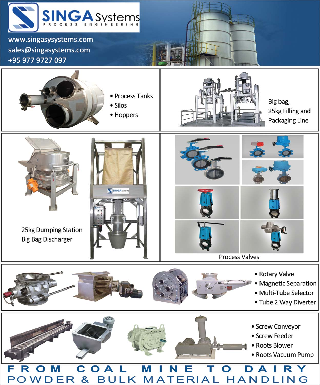 Singa SystemEngineering Process Control/Instrumentation & Automation