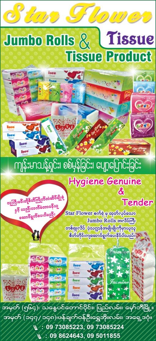 Star Flower Co., Ltd. Tissue Papers