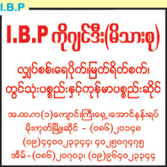 I.B.P Machinery & Spare Parts Dealers