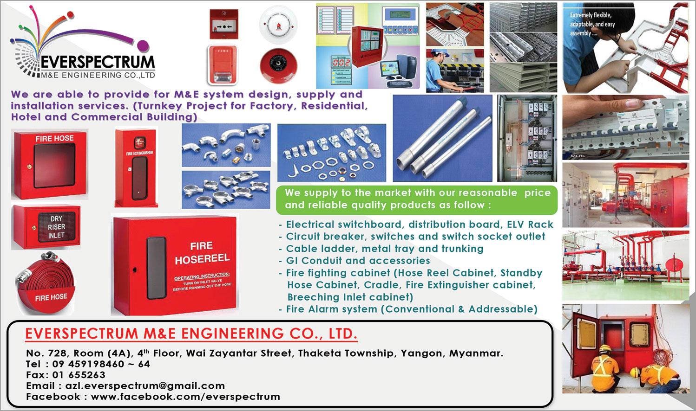 Fire Equipment Cabinet Everspectrum Me Engineering Co Ltd Myanmar Business Directory